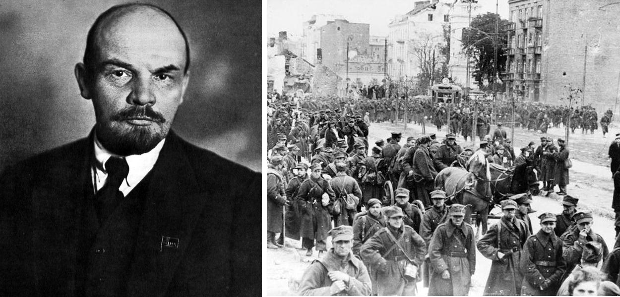 Lênin, principal líder da Revolução Russa