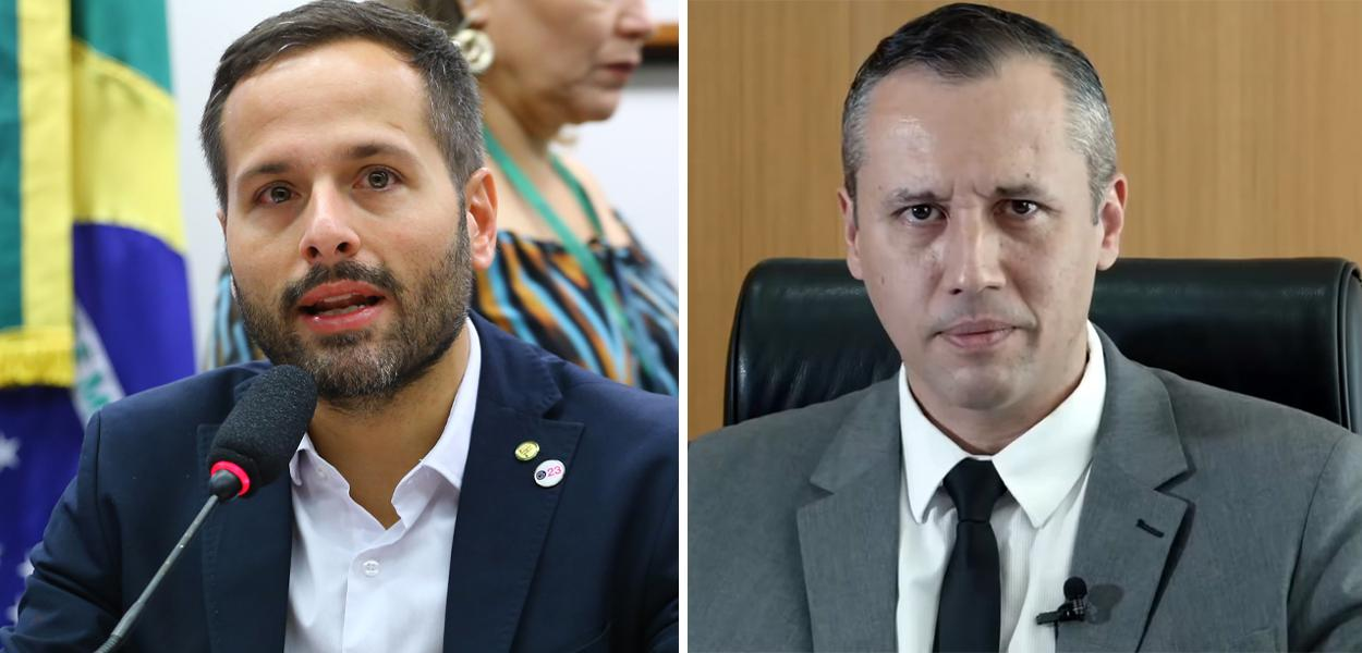 Marcelo Calero e Roberto Alvim