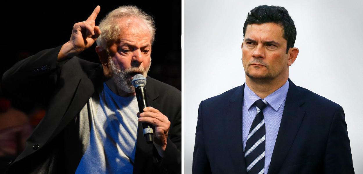 Lula e Sérgio Moro