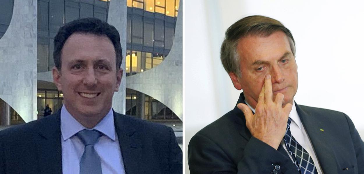 Samy Liberman e Jair Bolsonaro