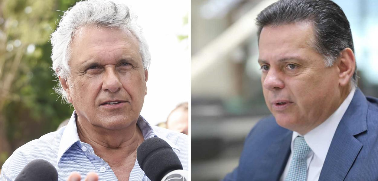 Ronaldo Caiado e Marconi Perillo