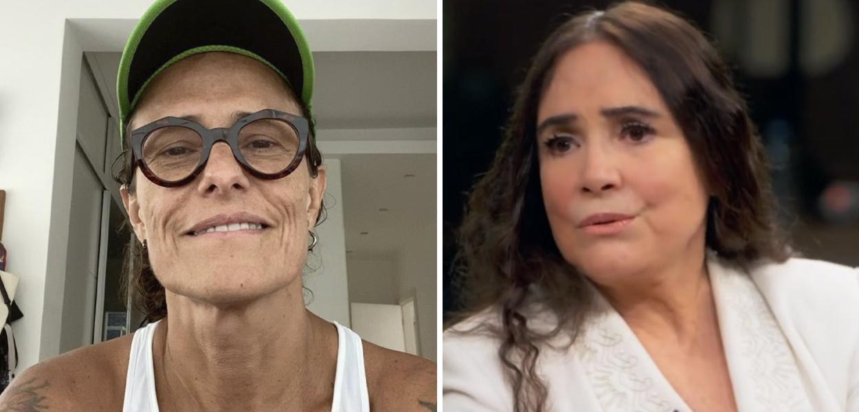 Zélia Duncan e Regina Duarte