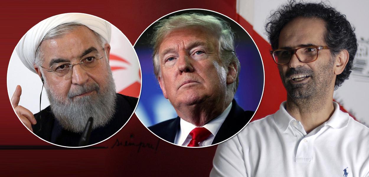 Hassam Rohani, Donald Trump e Salem Nasser