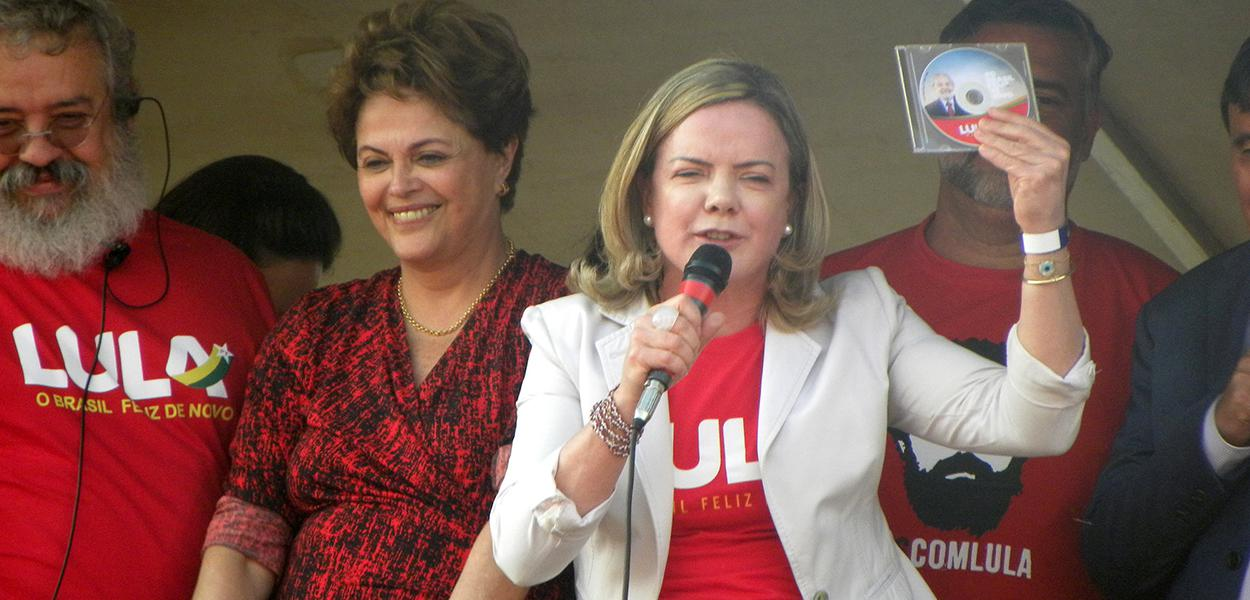 Dilma Rousseff e Gleisi Hoffmann