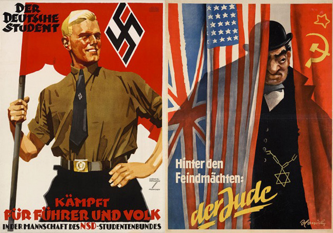 O jovem alemão ariano e o velho judeu