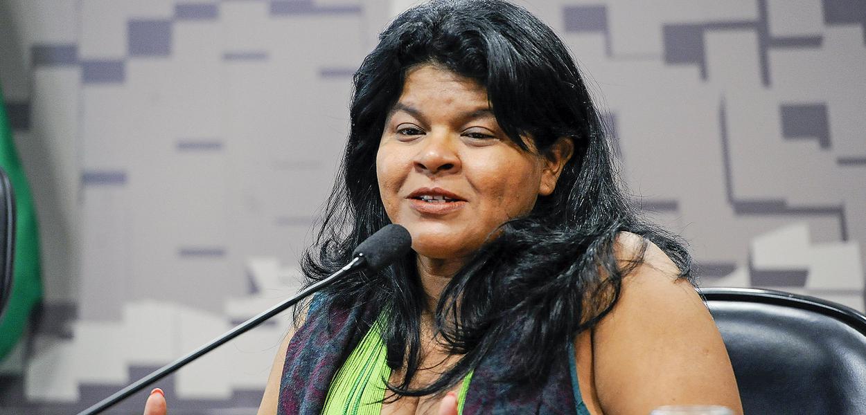 Coordenadora Executiva da Articulação dos Povos indígenas do Brasil (Apib), Sonia Guajajara