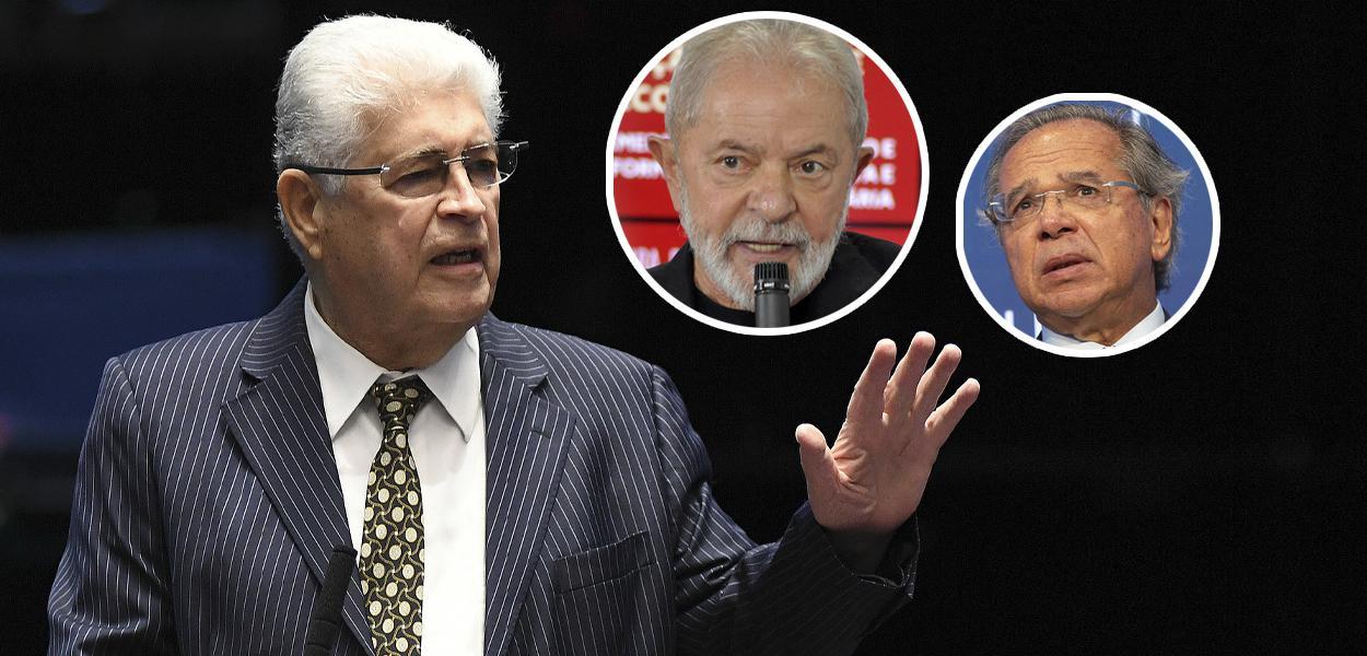 Roberto Requião, Lula e Paulo Guedes