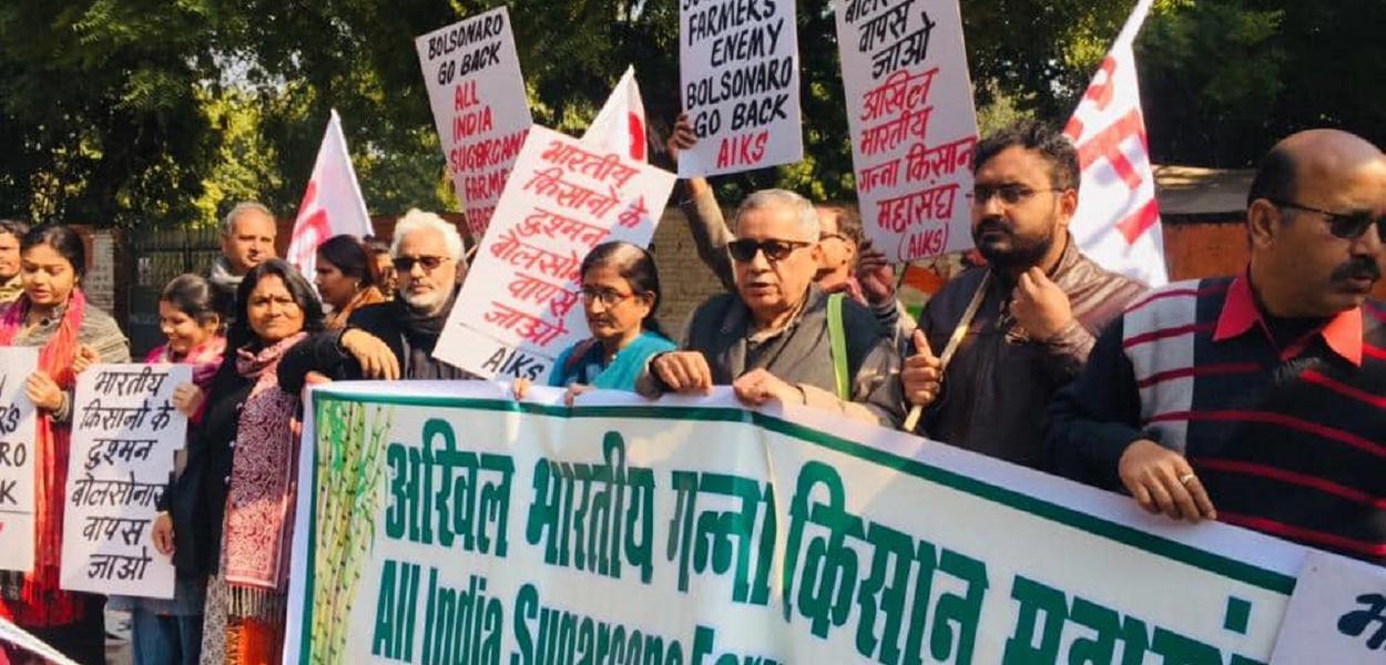 Protestos Índia