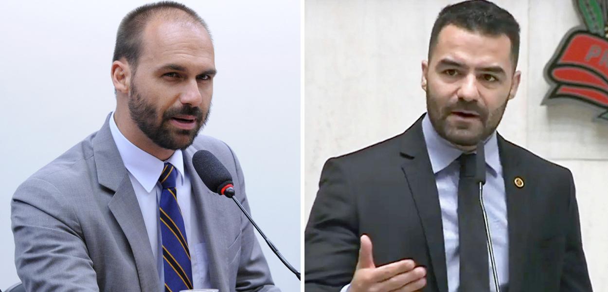 Eduardo Bolsonaro e Arthur do Val
