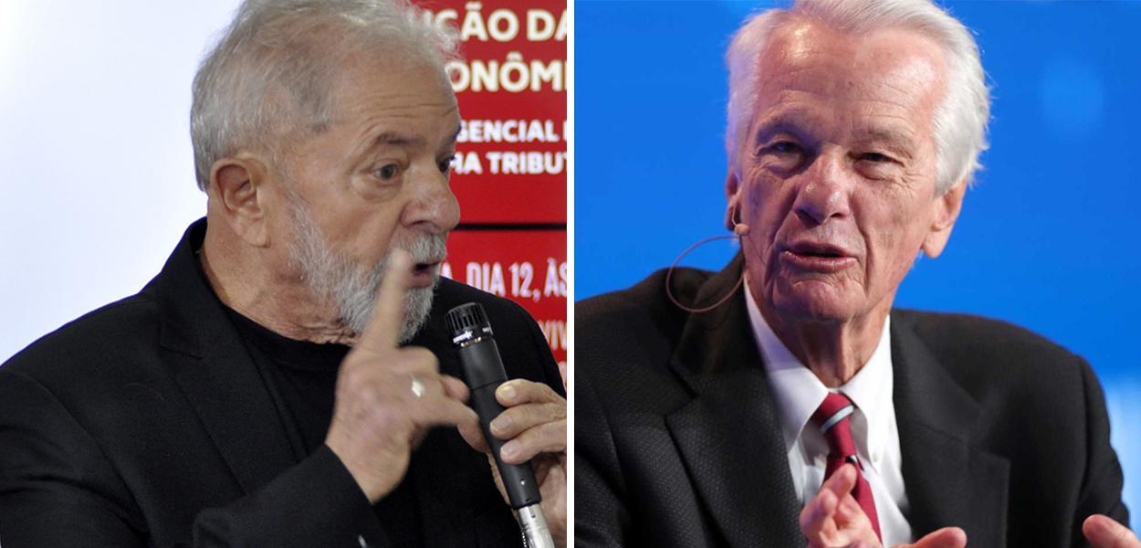 Lula e Jorge Paulo Lemann