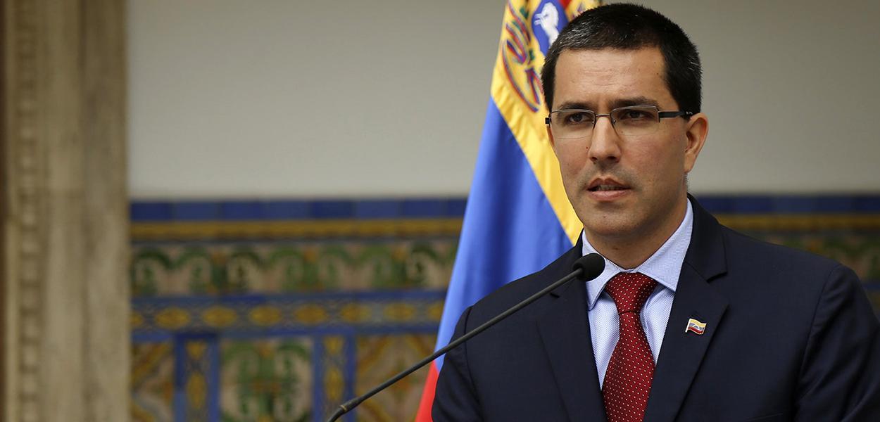 Ministro das Relações Exteriores da Venezuela,Jorge Arreaza