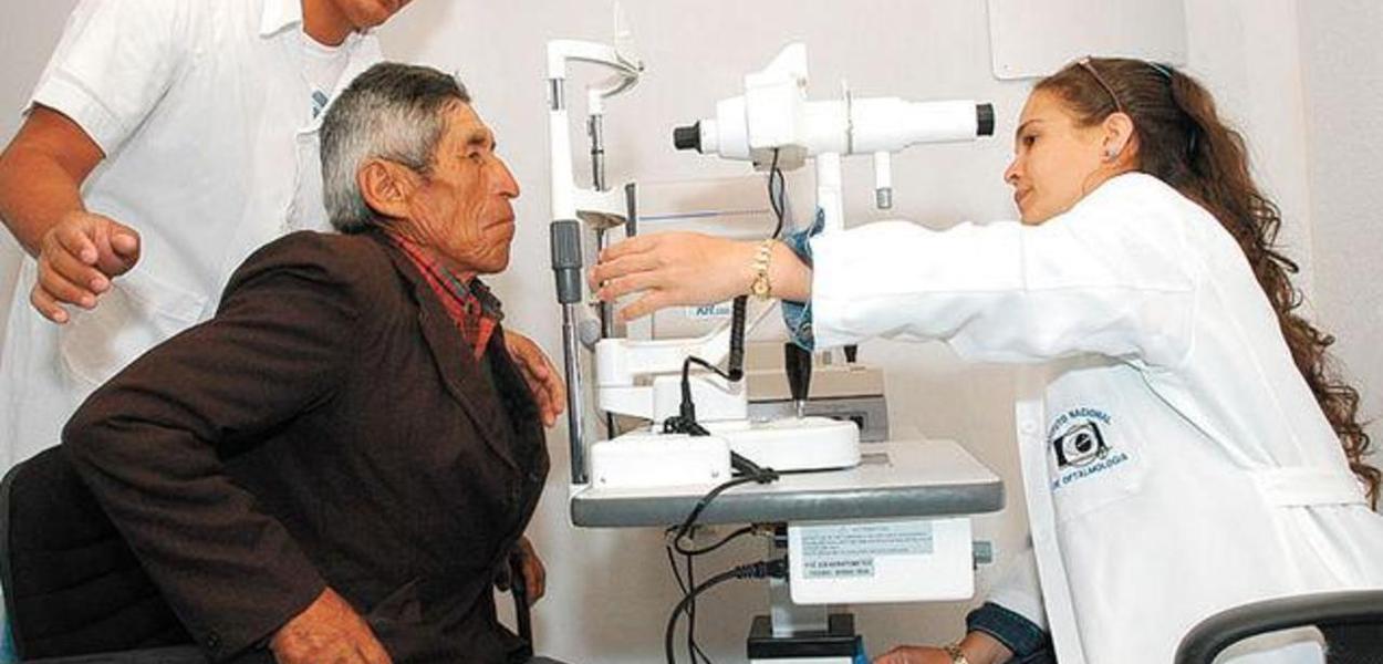 Cooperação médica cubana na Bolívia