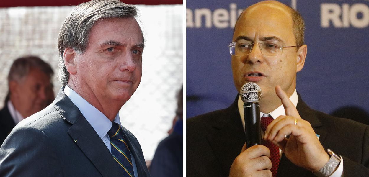 Jair Bolsonaro e Wilson Witzel