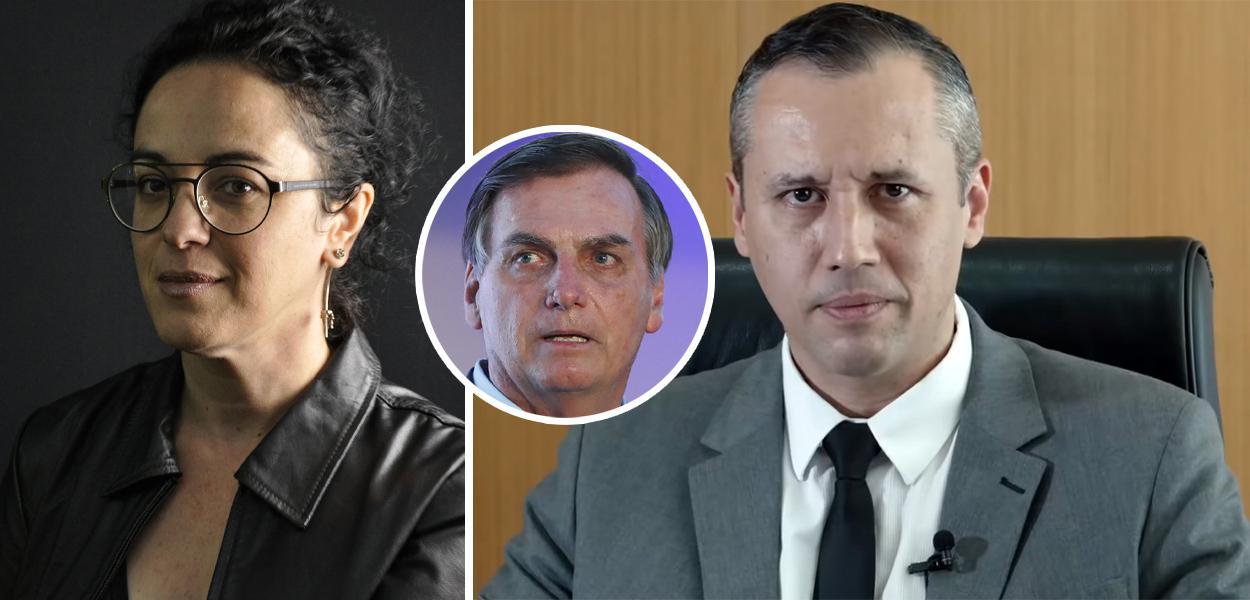 Marcia Tiburi, Jair Bolsonaro e Roberto Alvim