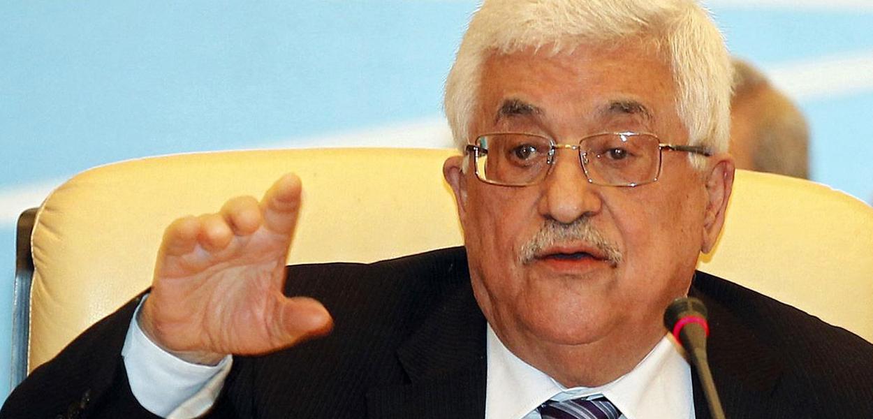 Mahmmud Abbas, presidente da Autoridade Nacional Palestina