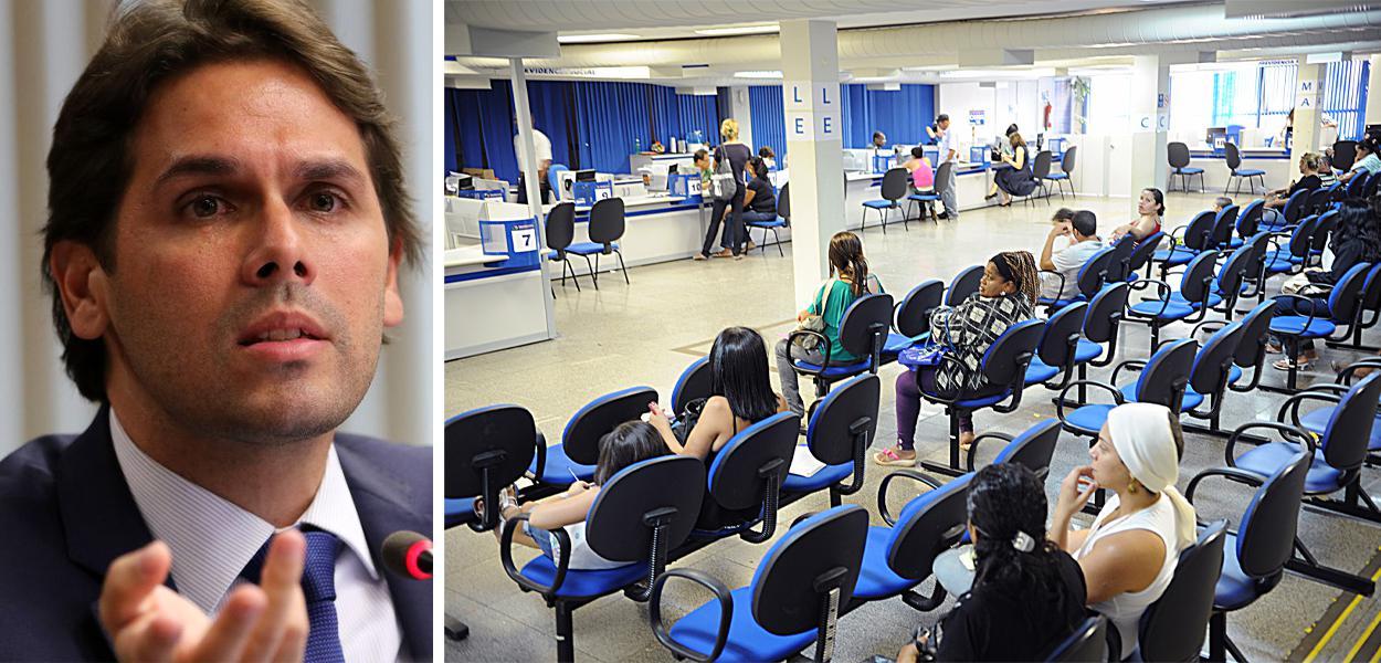 Renato Vieira afirmou que os problemas com as filas do INSS só seriam resolvidos em seis meses.