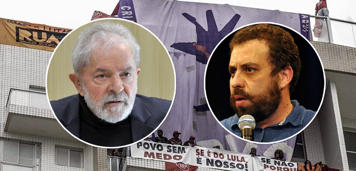 Lula e Guilherme Boulos