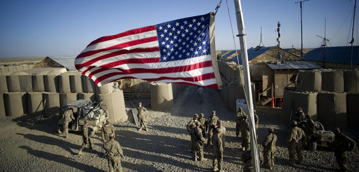 Tropas estadunidenses na Síria