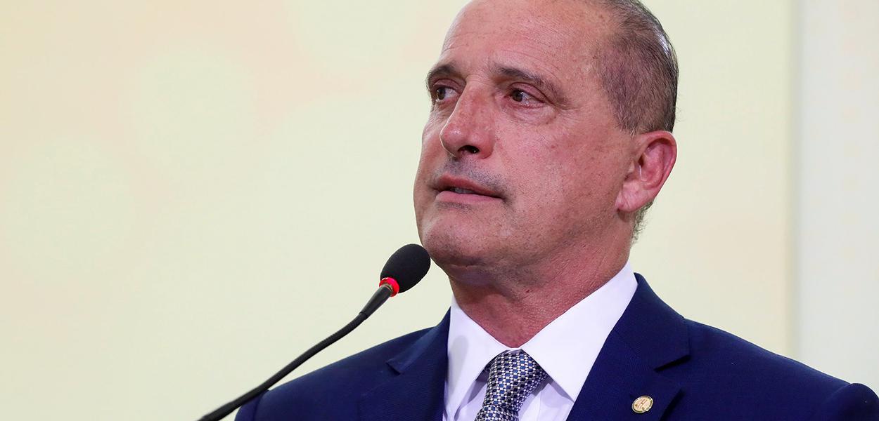 Ministro-Chefe da Casa Civil da Presidência da República Onyx Lorenzoni.