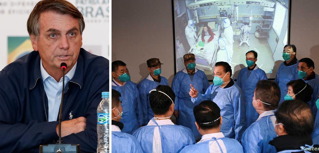 Bolsonaro fala sobre o coronavírus