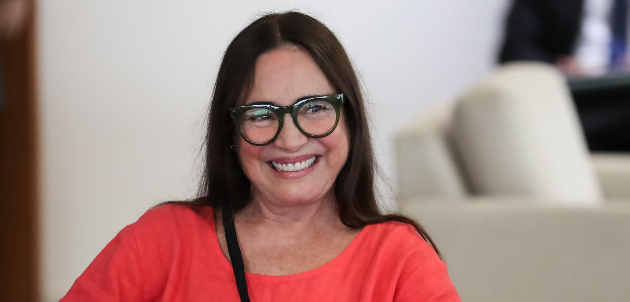 Secretária de Cultura, Regina Duarte