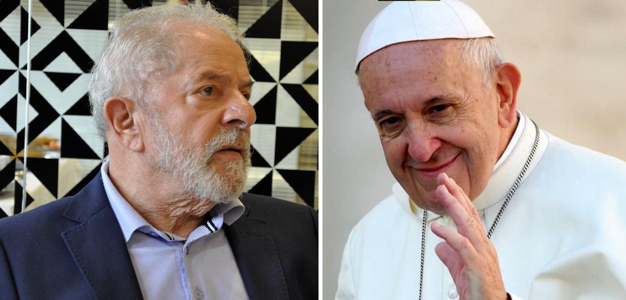 Lula e o Papa Francisco
