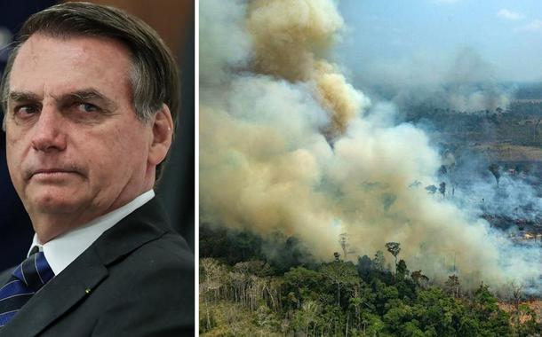 Jair Bolsonaro e o desmatamento na Amazônia