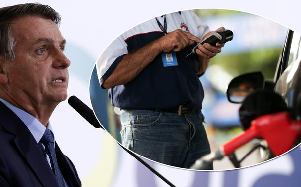 Bolsonaro - preços de gasolina