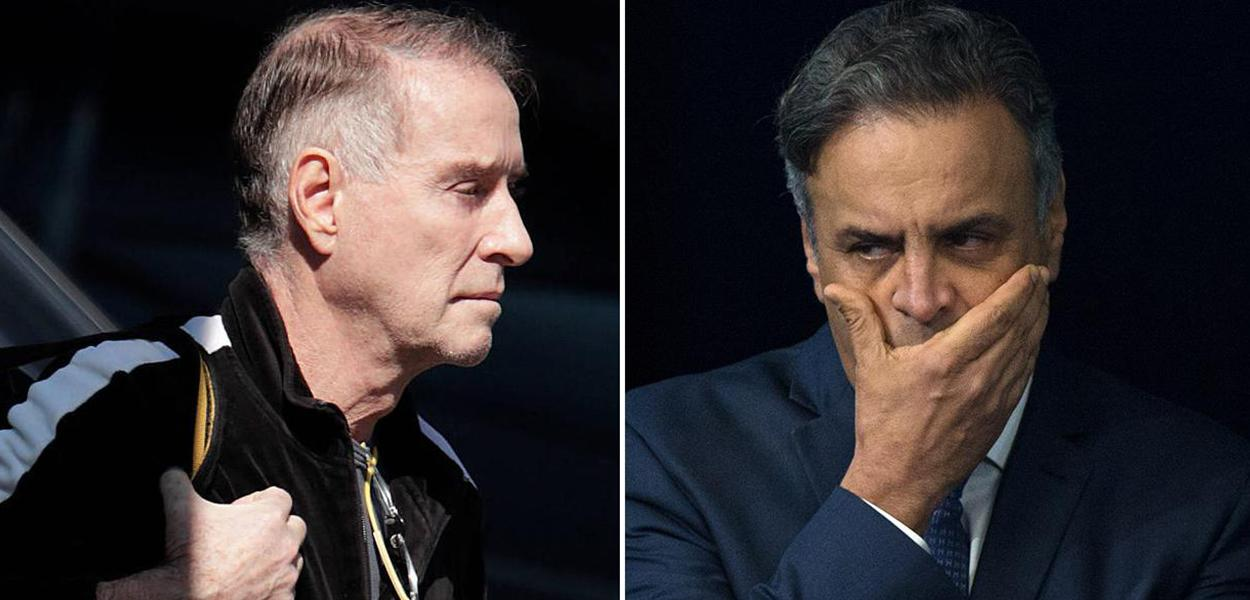 Eike Batista e Aécio Neves