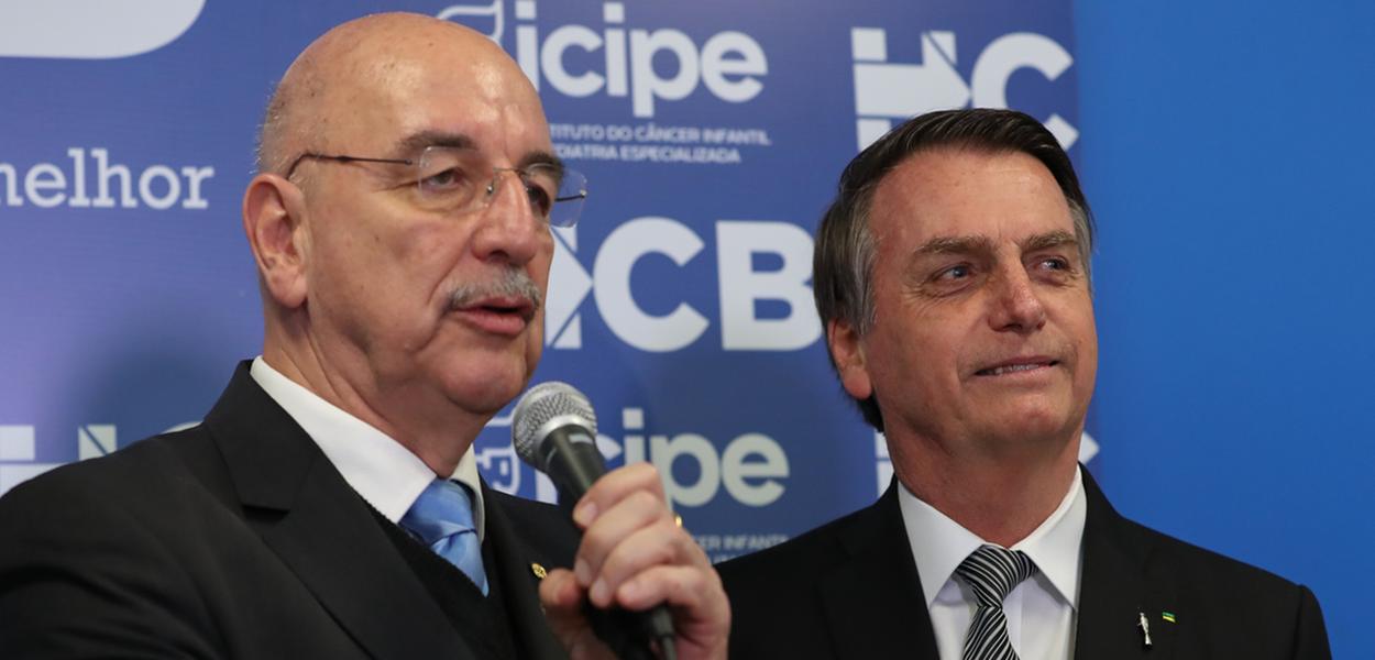 Osmar Terra e Jair Bolsonaro