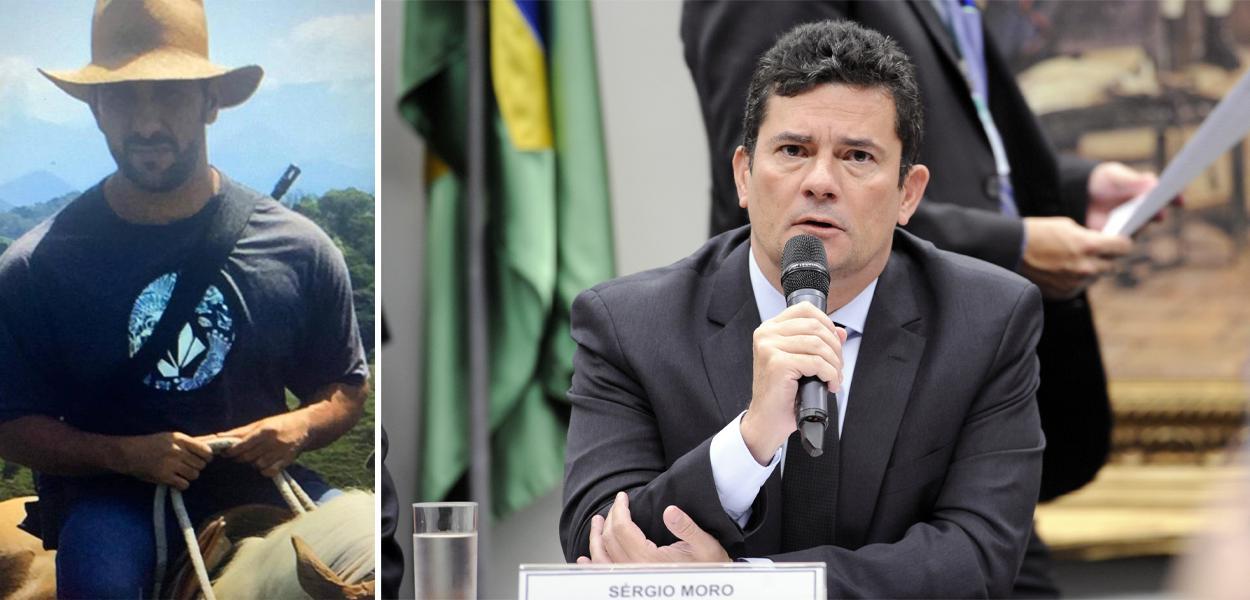 Adriano da Nóbrega e Sergio Moro