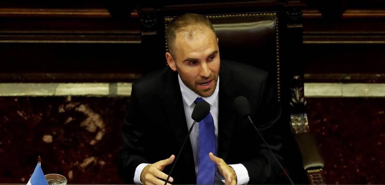 O ministro da Economia da Argentina, Martín Guzmán