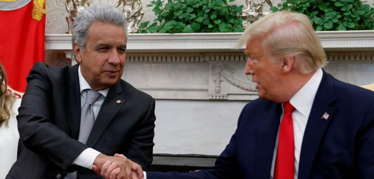 Lenín Moreno e Trump