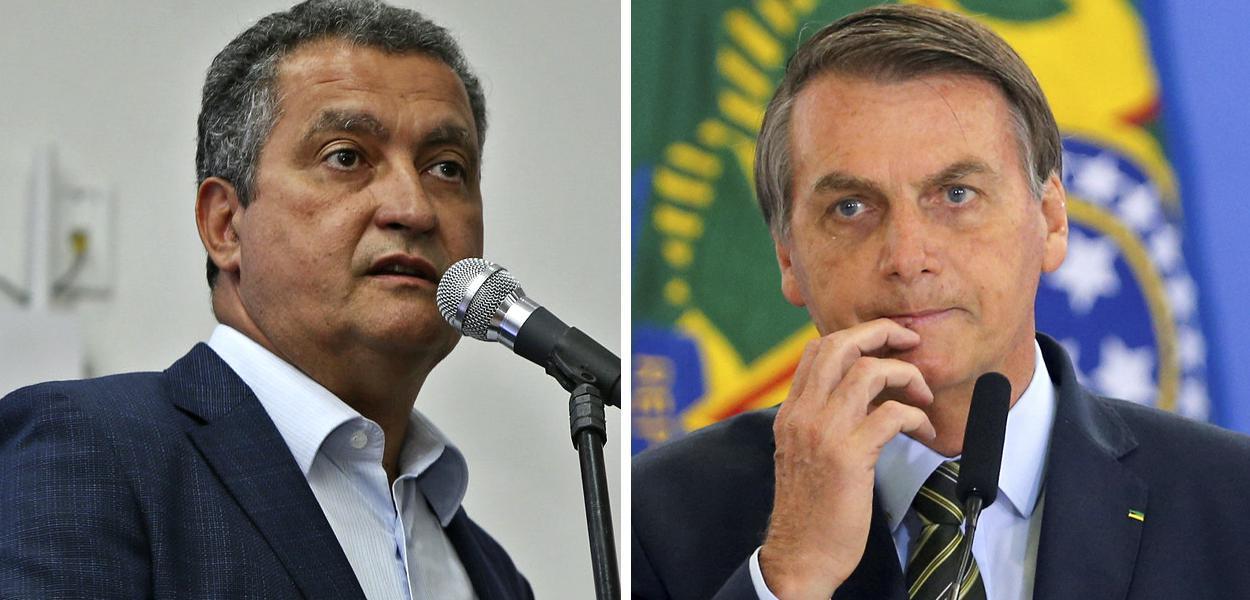 Rui Costa e Jair Bolsonaro