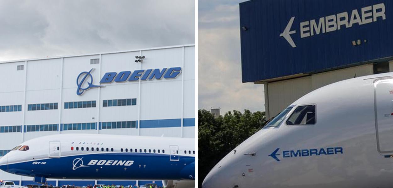 A Boeing cancelou uma compra de US$ 4,2 bilhões da empresa brasileira