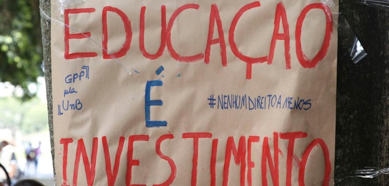 Protesto na UNB