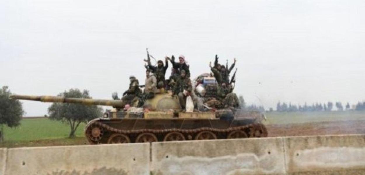 Exército sírio conquista terreno