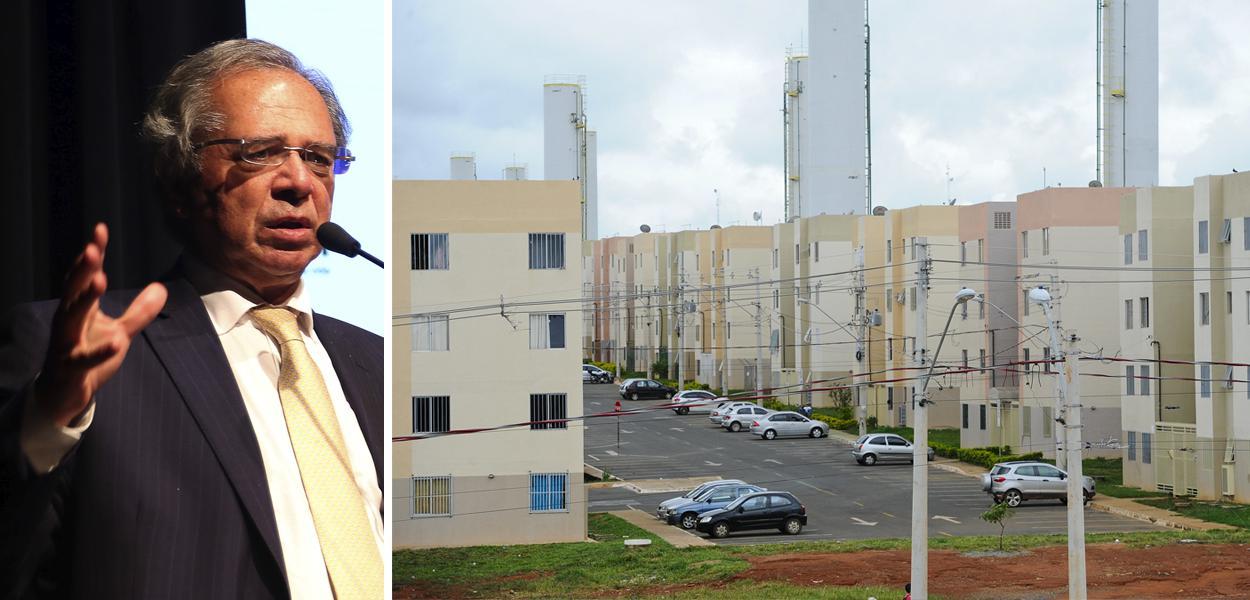 Paulo Guedes e apartamentos do Programa Minha Casa, Minha Vida