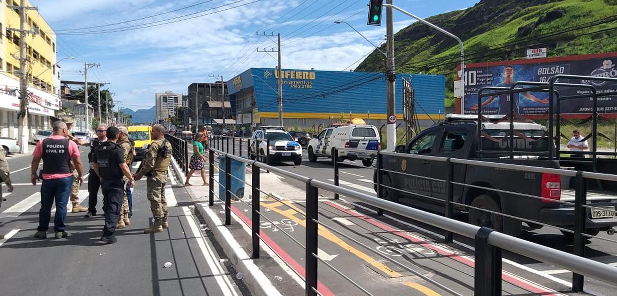 Avenida Leitão da Silva em Vitória