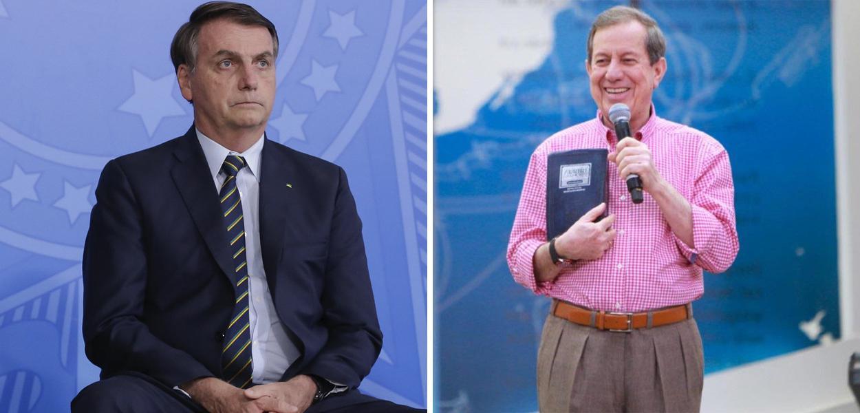 Jair Bolsonaro e RR Soares