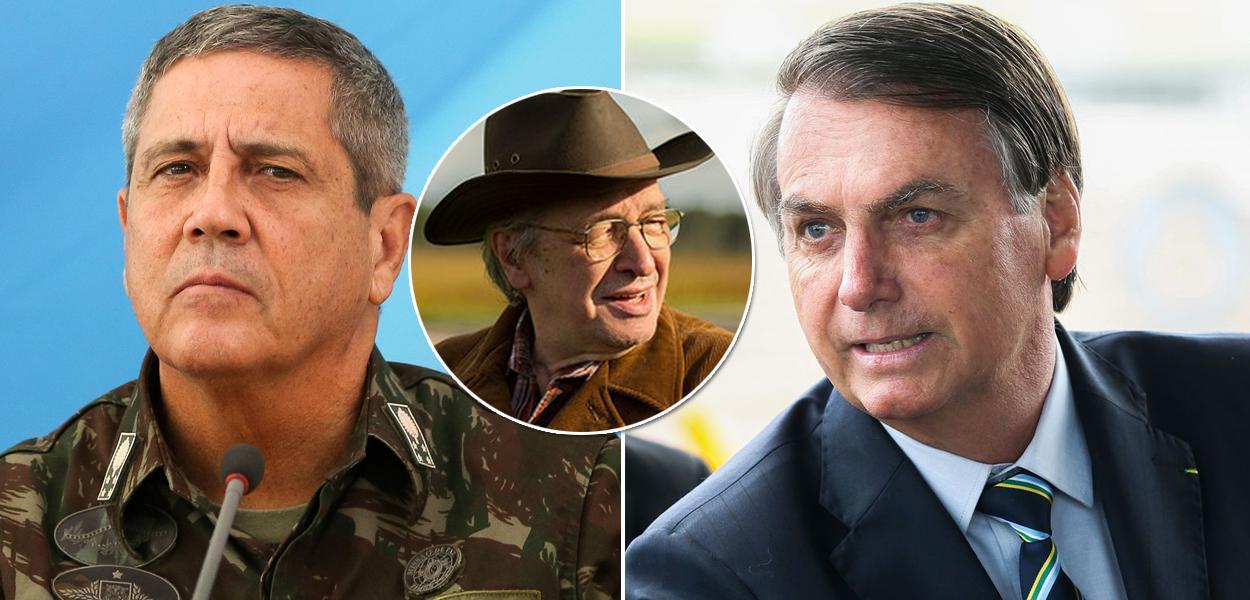 Olavo de Carvalho diz que militares no Brasil são encastados.