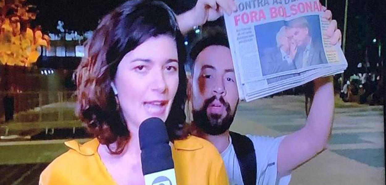 Fora Bolsonaro.