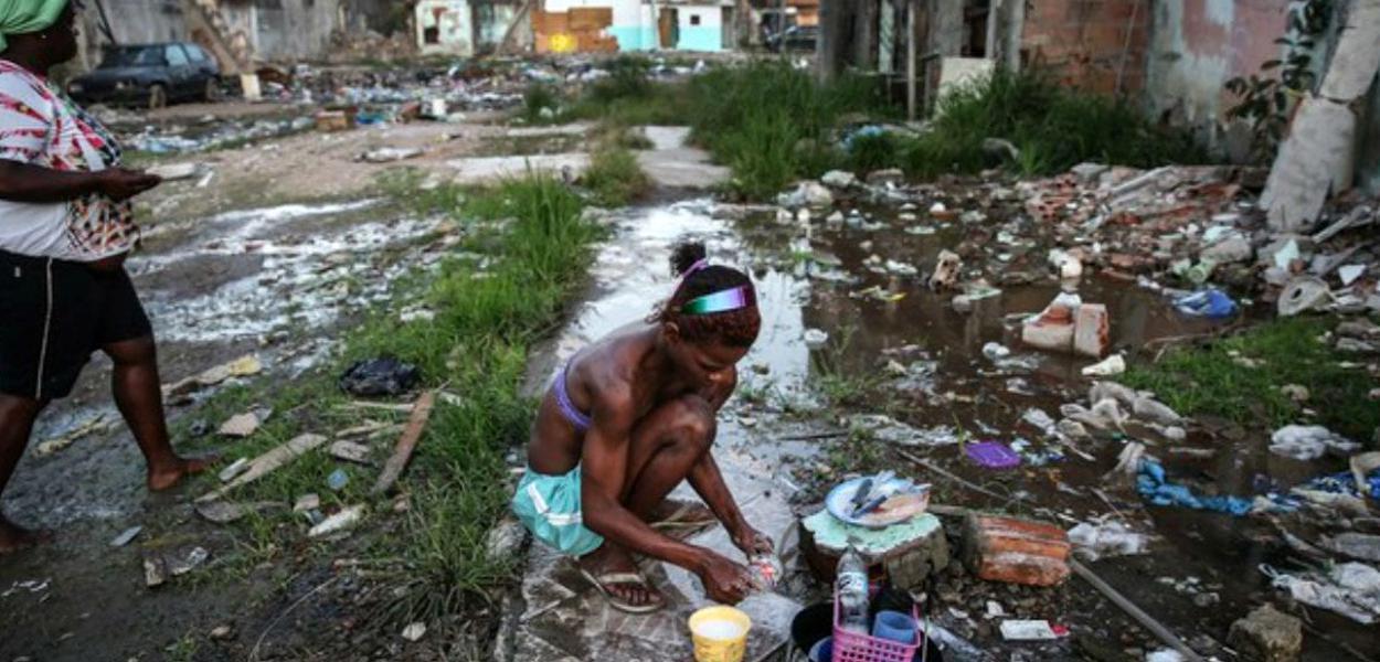 Passar fome no Brasil é uma grande mentira.