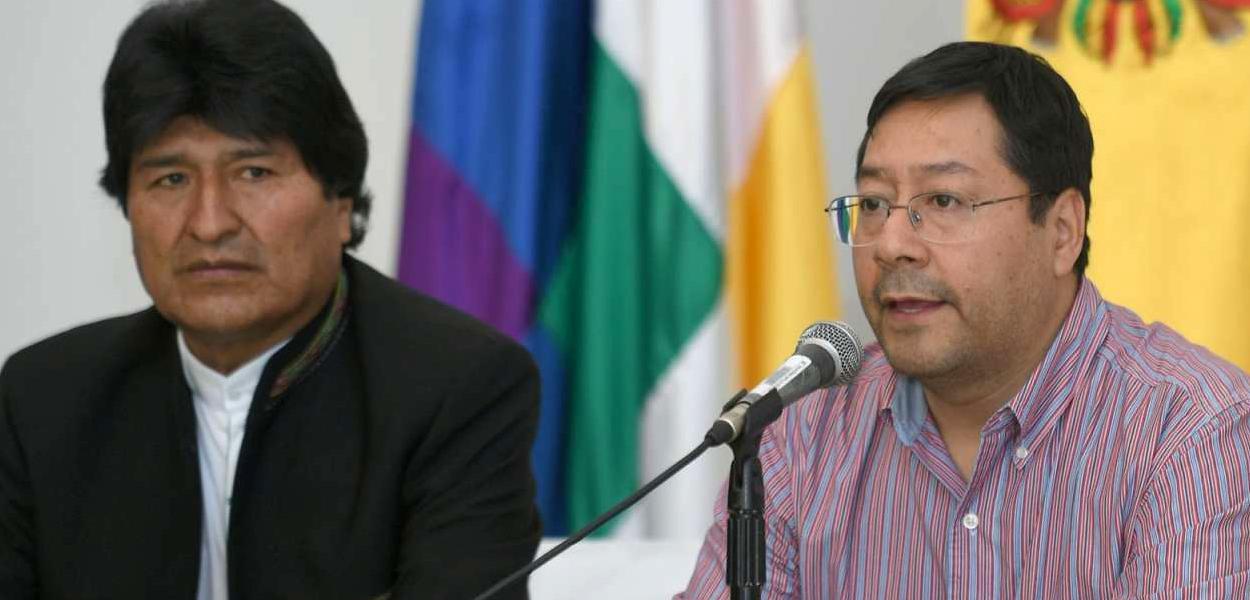 Evo Morales e Luis Arce