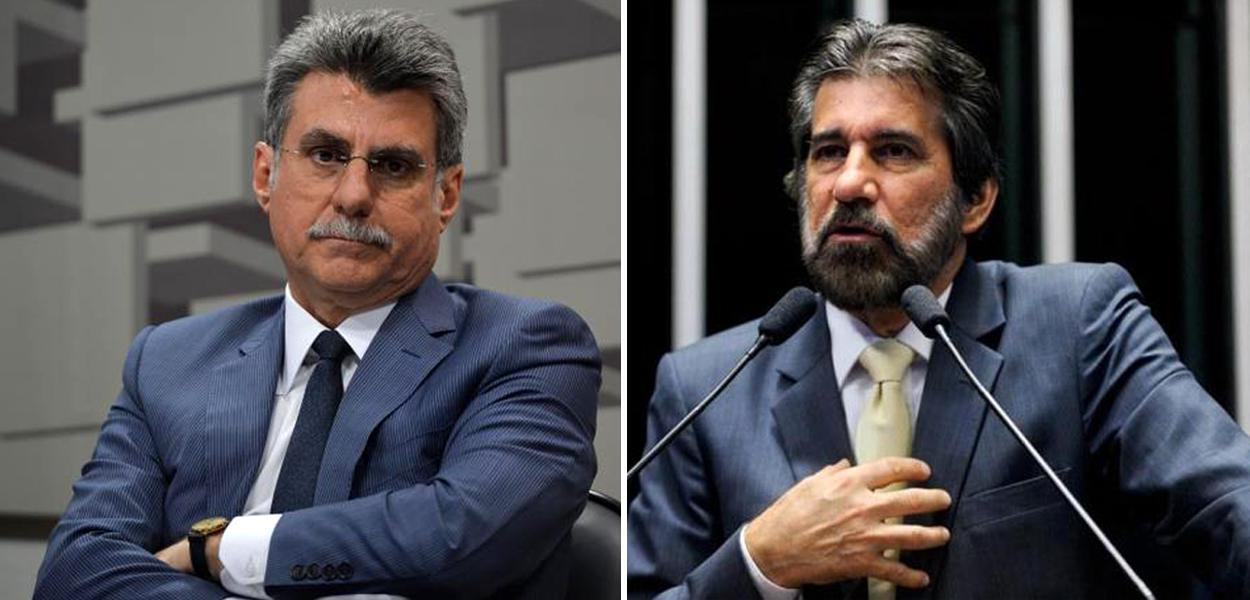 Romero Jucá (RR) e Valdir Raupp (RO).