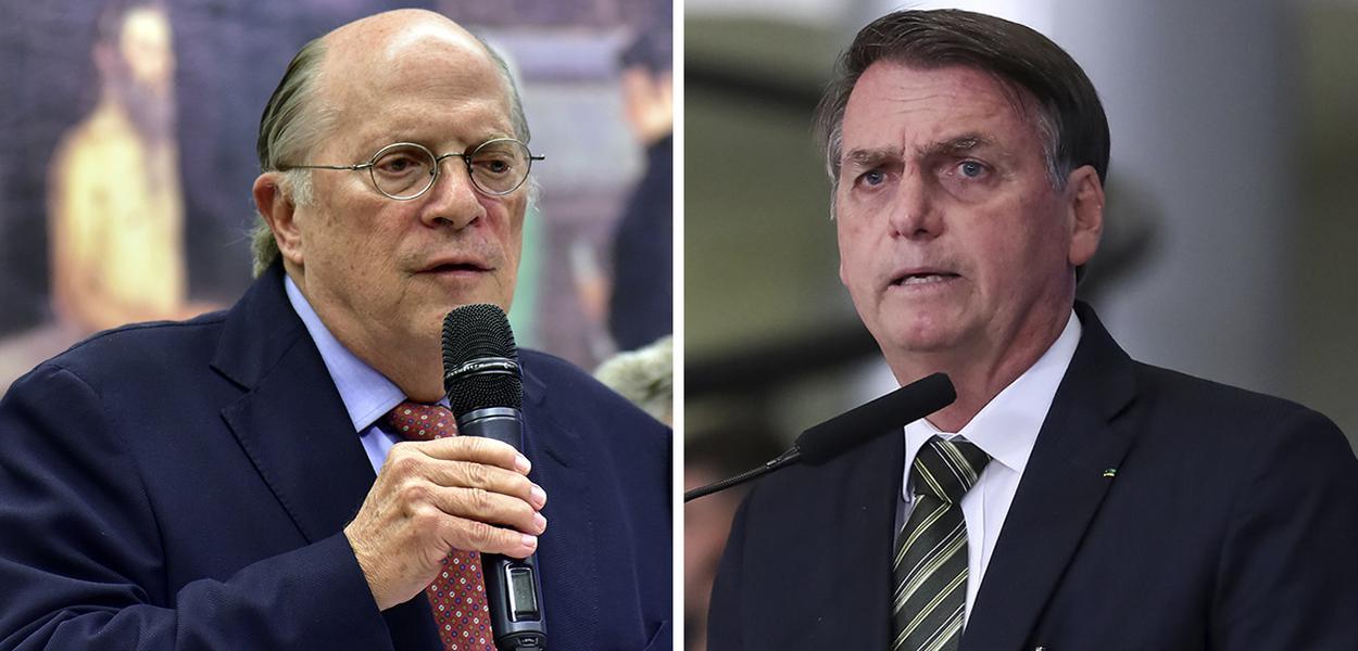 Mibuel Reale Jr. e Jair Bolsonaro