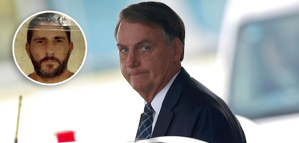 Adriano Magalhães da Nóbrega e Jair  Bolsonaro