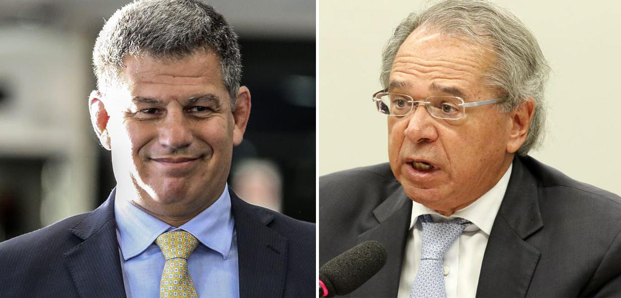 Gustavo Bebianno e Paulo Guedes