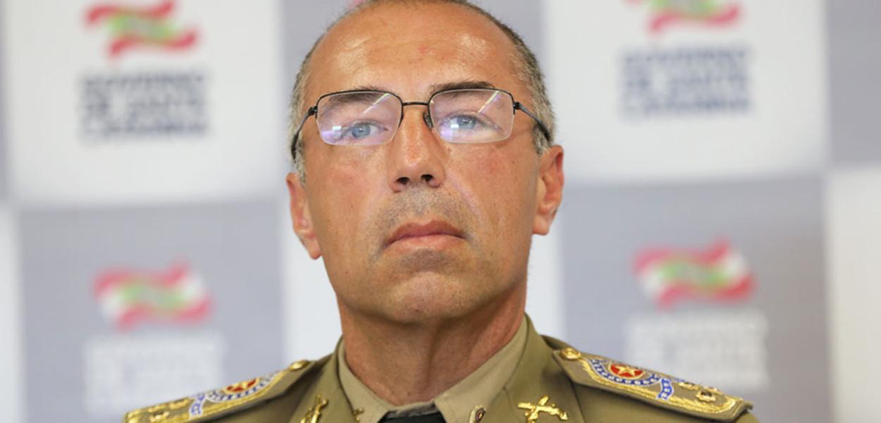 Presidente do Conselho Nacional de Comandantes-Gerais da Polícia Militar, Carlos Alberto de Araújo Gomes Júnior