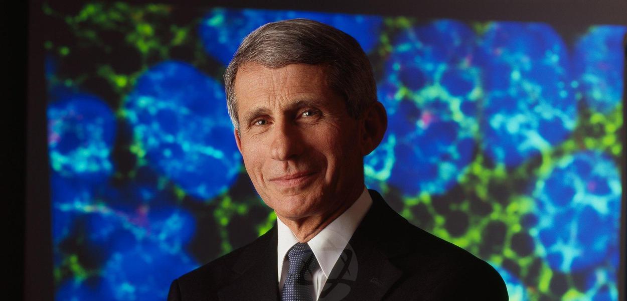 Anthony Faucy, infectologista do NIAID, dos Estados Unidos
